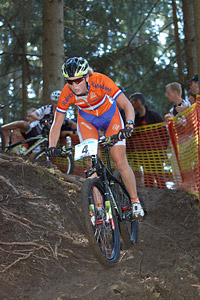 Anne Terpstra at UCI XCO/XCE WORLD CHAMPIONSHIPS - Saalfelden (2012)