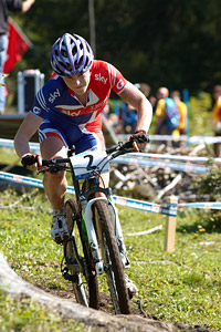 Annie Last at UCI XCO/XCE WORLD CHAMPIONSHIPS - Saalfelden (2012)
