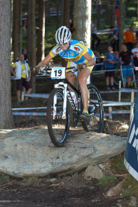 Marta Tereshchuk at UCI XCO/XCE WORLD CHAMPIONSHIPS - Saalfelden (2012)
