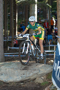 Raiza Goulao Henrique at UCI XCO/XCE WORLD CHAMPIONSHIPS - Saalfelden (2012)