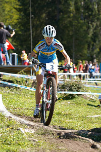 Yana Belomoyna at UCI XCO/XCE WORLD CHAMPIONSHIPS - Saalfelden (2012)