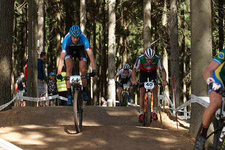 Lars Forster at UCI MTB WORLD CHAMPIONSHIPS - XCO/XCE (2016)