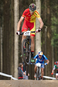 David Valero at UCI MTB WORLD CHAMPIONSHIPS - XCO/XCE (2016)