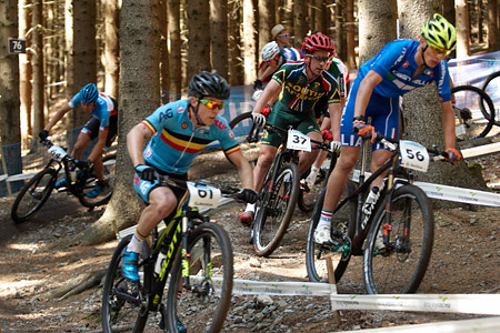 James Reid at UCI MTB WORLD CHAMPIONSHIPS - XCO/XCE (2016)