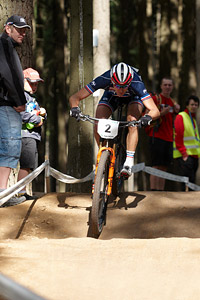 Julien Absalon at UCI MTB WORLD CHAMPIONSHIPS - XCO/XCE (2016)