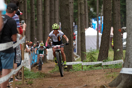 Adelheid Morath at UCI MTB WORLD CHAMPIONSHIPS - XCO/XCE (2016)