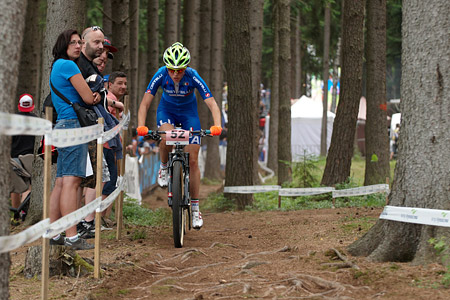 Anna Oberparleiter at UCI MTB WORLD CHAMPIONSHIPS - XCO/XCE (2016)