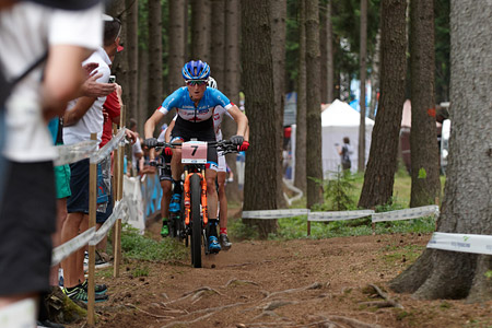 Catharine Pendrel at UCI MTB WORLD CHAMPIONSHIPS - XCO/XCE (2016)
