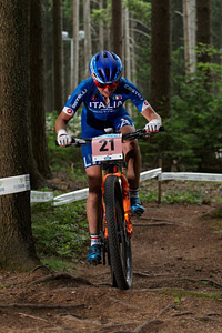 Eva Lechner at UCI MTB WORLD CHAMPIONSHIPS - XCO/XCE (2016)