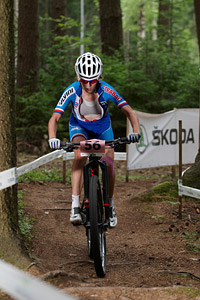 Jitka Skarnitzlova at UCI MTB WORLD CHAMPIONSHIPS - XCO/XCE (2016)