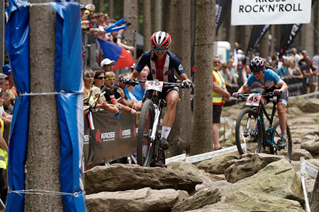 Larissa Connors at UCI MTB WORLD CHAMPIONSHIPS - XCO/XCE (2016)