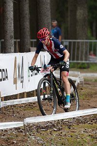 Lea Davison at UCI MTB WORLD CHAMPIONSHIPS - XCO/XCE (2016)