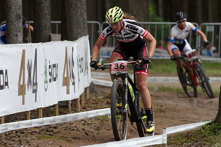 Lisa Mitterbauer at UCI MTB WORLD CHAMPIONSHIPS - XCO/XCE (2016)