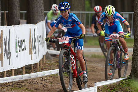 Lisa Rabensteiner at UCI MTB WORLD CHAMPIONSHIPS - XCO/XCE (2016)