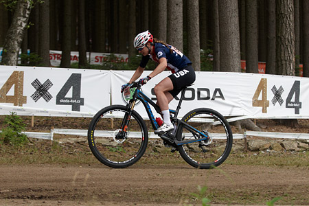Rose Grant at UCI MTB WORLD CHAMPIONSHIPS - XCO/XCE (2016)