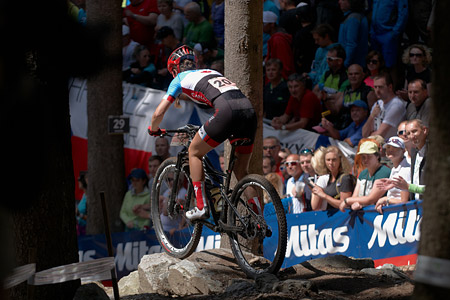 Catherine Fleury at UCI MTB WORLD CHAMPIONSHIPS - XCO/XCE (2016)
