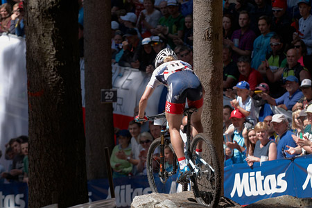 Evie Richards at UCI MTB WORLD CHAMPIONSHIPS - XCO/XCE (2016)