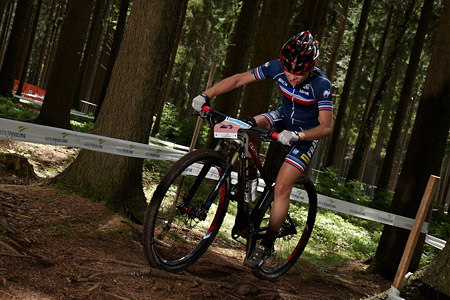 Lena Gerault at UCI MTB WORLD CHAMPIONSHIPS - XCO/XCE (2016)