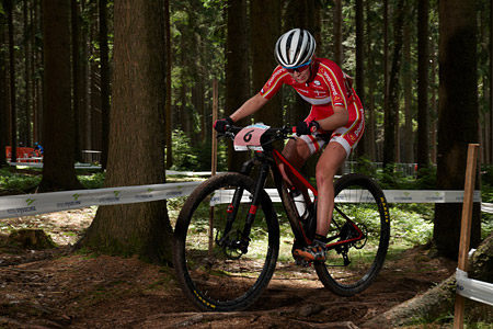 Malene Degn at UCI MTB WORLD CHAMPIONSHIPS - XCO/XCE (2016)