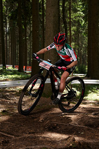 Sina Frei at UCI MTB WORLD CHAMPIONSHIPS - XCO/XCE (2016)