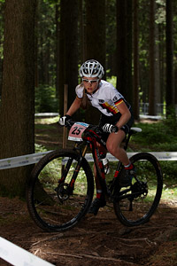 Sofia Wiedenroth at UCI MTB WORLD CHAMPIONSHIPS - XCO/XCE (2016)