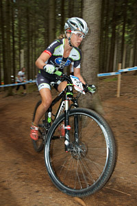 Heather Irmiger at UCI World Cup #6 - Nové Město na Morave (2011)