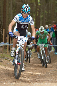 Alexis Vuillermoz at UCI World Cup #3 - Nové Mesto na Morave (2012)