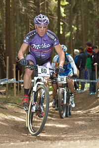 Chris Jongewaard at UCI World Cup #3 - Nové Mesto na Morave (2012)