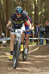 David Escolar Ballesteros at UCI World Cup #3 - Nové Mesto na Morave (2012)