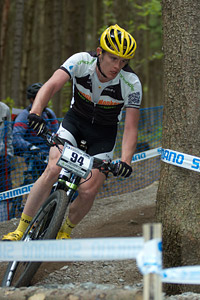 David Fletcher at UCI World Cup #3 - Nové Mesto na Morave (2012)