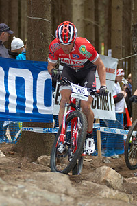 Davy Huygens at UCI World Cup #3 - Nové Mesto na Morave (2012)