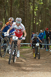 Florian Vogel at UCI World Cup #3 - Nové Mesto na Morave (2012)