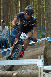 Jeremy Horgan-Kobelski at UCI World Cup #3 - Nové Mesto na Morave (2012)