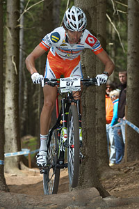 Jiri Novak at UCI World Cup #3 - Nové Mesto na Morave (2012)