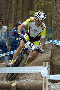 Jürg Graf at UCI World Cup #3 - Nové Mesto na Morave (2012)