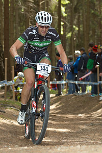 Lukas Sablik at UCI World Cup #3 - Nové Mesto na Morave (2012)