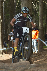 Manuel Fumic at UCI World Cup #3 - Nové Mesto na Morave (2012)