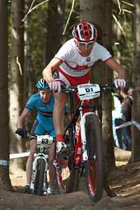 Marek Galinski at UCI World Cup #3 - Nové Mesto na Morave (2012)