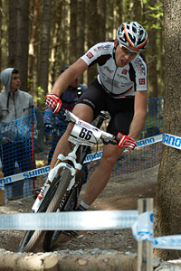 Paul Van Der Ploeg at UCI World Cup #3 - Nové Mesto na Morave (2012)