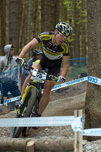 Robert Mennen at UCI World Cup #3 - Nové Mesto na Morave (2012)