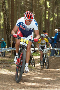 Todd Wells at UCI World Cup #3 - Nové Mesto na Morave (2012)
