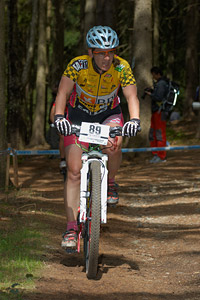Ivonne Kraft at UCI World Cup #3 - Nové Mesto na Morave (2012)