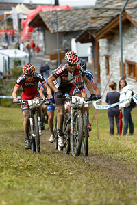 Carlos Coloma Nicolas at UCI World Cup XCO 7 / DHI 6 - Val d'Isère (2012)