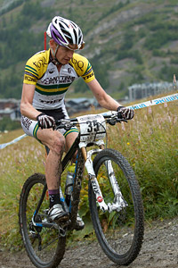 Daniel McConnell at UCI World Cup XCO 7 / DHI 6 - Val d'Isère (2012)