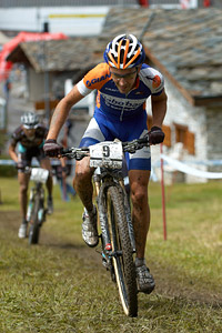 Fabian Giger at UCI World Cup XCO 7 / DHI 6 - Val d'Isère (2012)