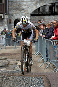 Florian Vogel at UCI World Cup XCO 7 / DHI 6 - Val d'Isère (2012)