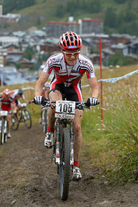 Giancarlo Sax at UCI World Cup XCO 7 / DHI 6 - Val d'Isère (2012)