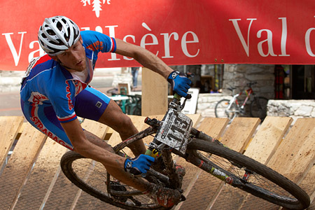 Jan Jobanek at UCI World Cup XCO 7 / DHI 6 - Val d'Isère (2012)