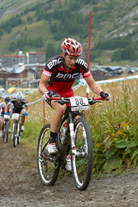 Julien Taramarcaz at UCI World Cup XCO 7 / DHI 6 - Val d'Isère (2012)
