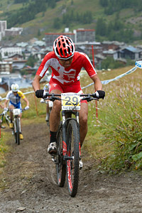 Kohei Yamamoto at UCI World Cup XCO 7 / DHI 6 - Val d'Isère (2012)